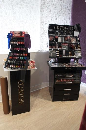 Présentoirs maquillage ArtDéco