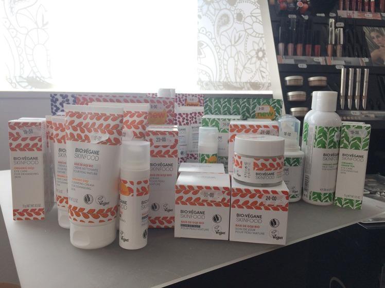 Découvrez la gamme Bio-Végane-Skinfood